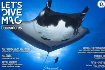 Portada revista LET'S DIVE MAG